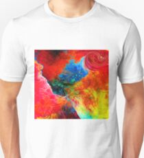 Woman in her Fantastical Fantasy Unisex T-Shirt