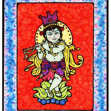 Krishna by javajohnart