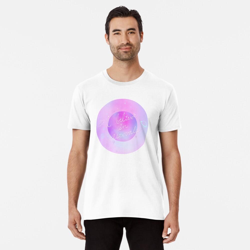 Ich glaube - galaktisch Premium T-Shirt