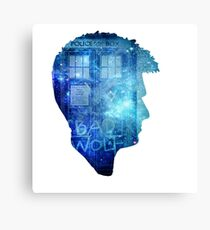 Doctor who tenth doctor-David Tennant Canvas Print