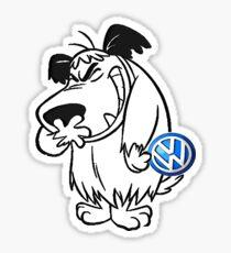 VW Muttley Sticker
