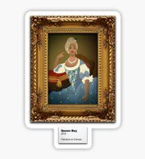 Beyonce Fabulous on Canvas Sticker