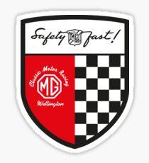 MG Classic Racing Wellington Shield Sticker