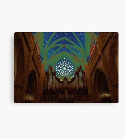DreamHeavenCathedral Canvas Print