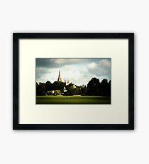 Llandaff Cathedral Gothic Framed Print