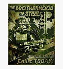 Join the Brotherhood Photographic Print