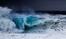 Winter Waves At Pipeline 20 by Alex Preiss