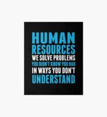 HUMAN RESOURCES Art Board