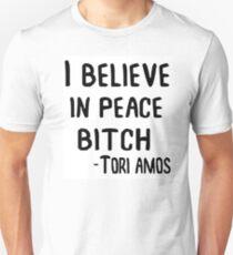I Believe in Peace B*tch Unisex T-Shirt