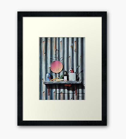 The Bug Catcher Framed Print