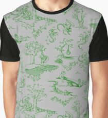 Xenomorph Toile Graphic T-Shirt