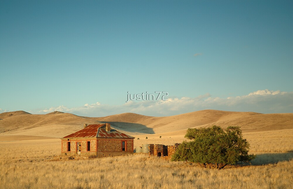 Deserted Farmhouse, Burra, South Australia by justin72