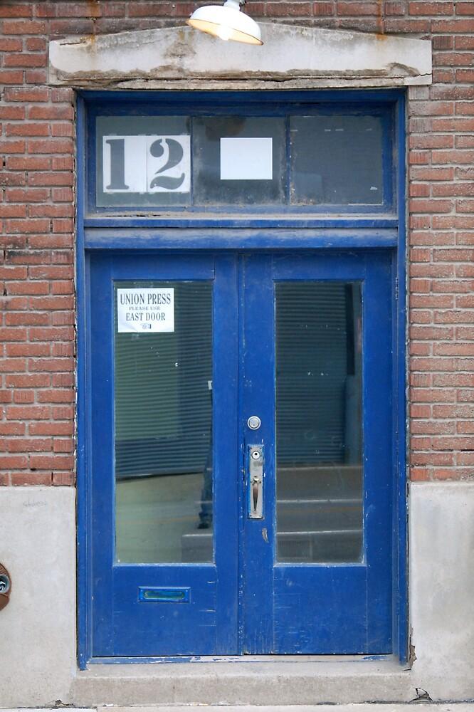 Blue Door by Robert Baker