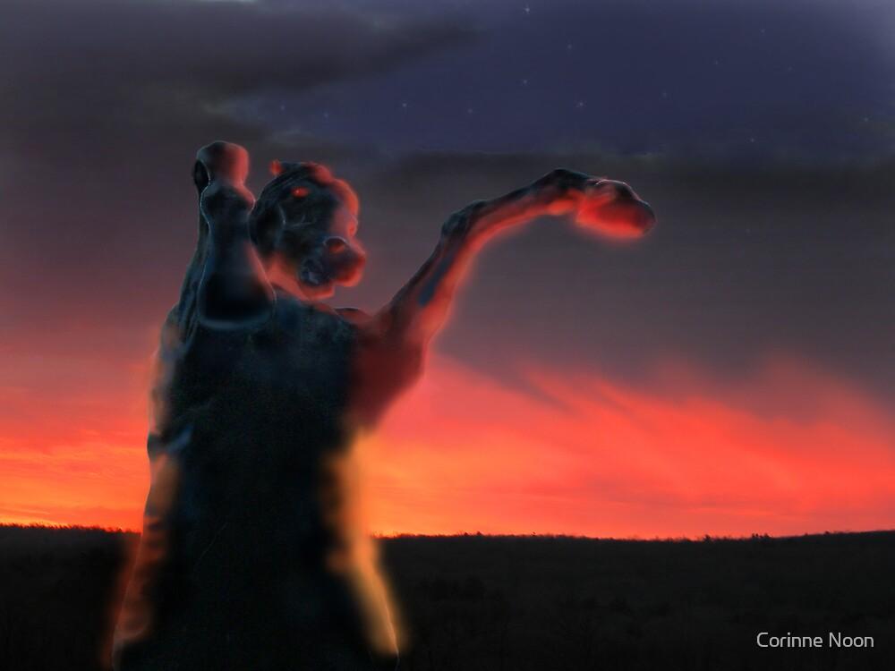 Dark Horse  3 by Corinne Noon
