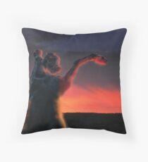 Dark Horse  3 Throw Pillow