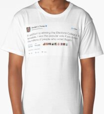 Donald Trump - Millions of People Who Voted Illegally Long T-Shirt
