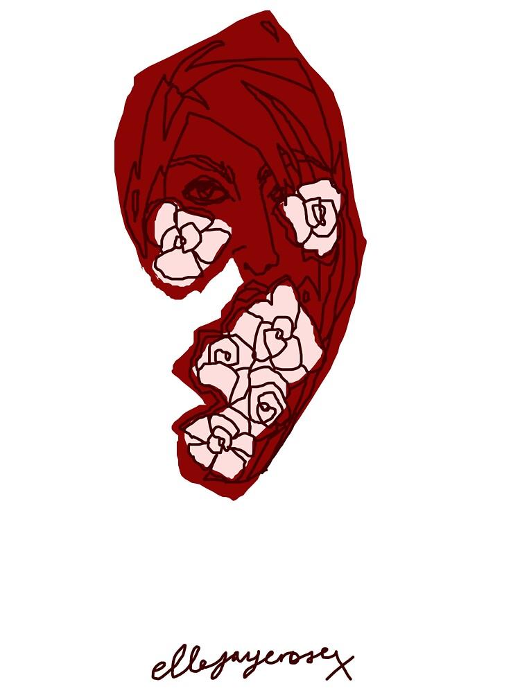 'Red Rose' by ellejayerose