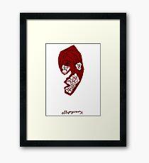 'Red Rose' Framed Print