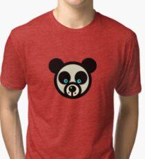 PANDA BLUE EYES Tri-blend T-Shirt