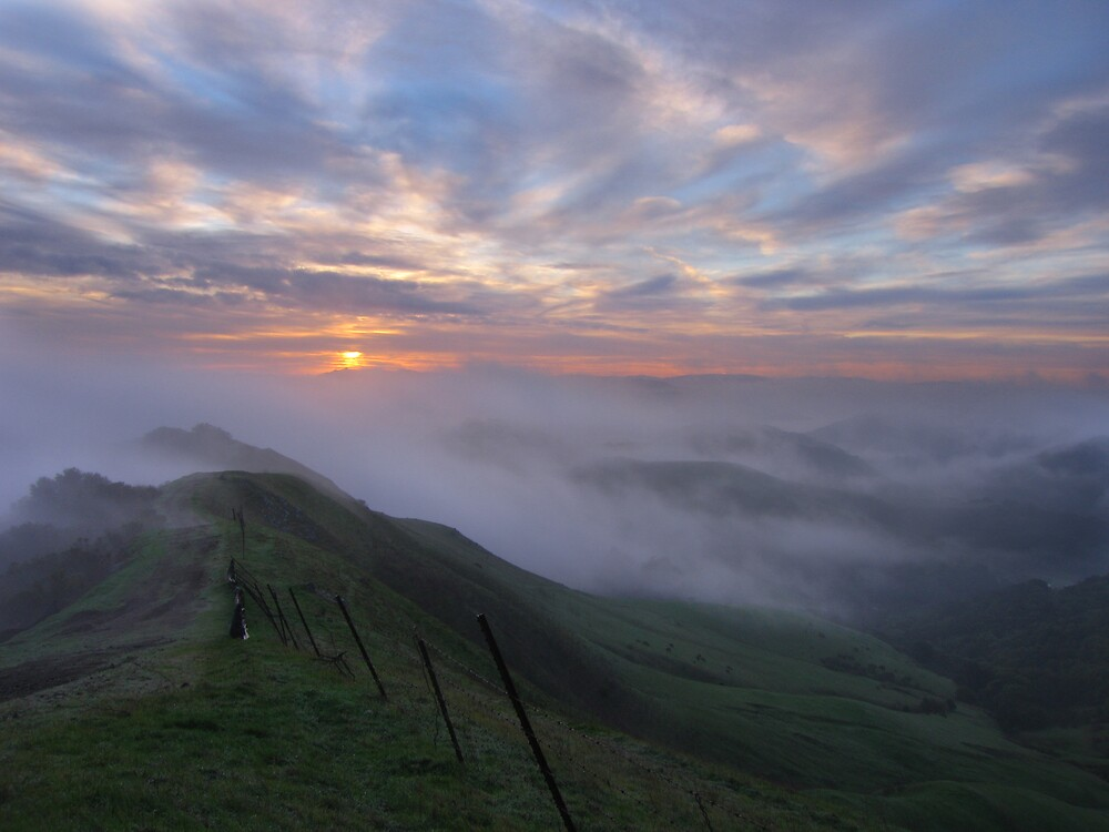 East Ridge Sunrise by Gary Pope