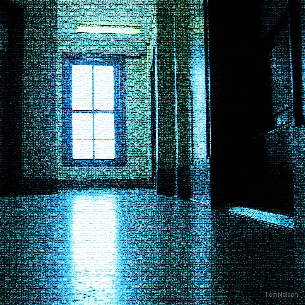 Blue Hallway by TomNelson