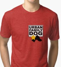 URBAN FAMILY DOG Tri-blend T-Shirt