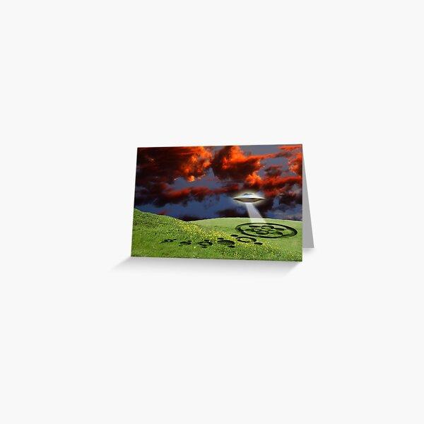 Twilight Run Greeting Card