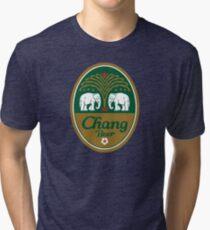 Chang Bear Merchandise Tri-blend T-Shirt