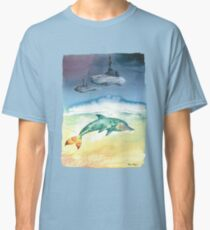 The dauphin and the castle cloud Classic T-Shirt