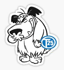 VW T25 Wacky Races Sticker