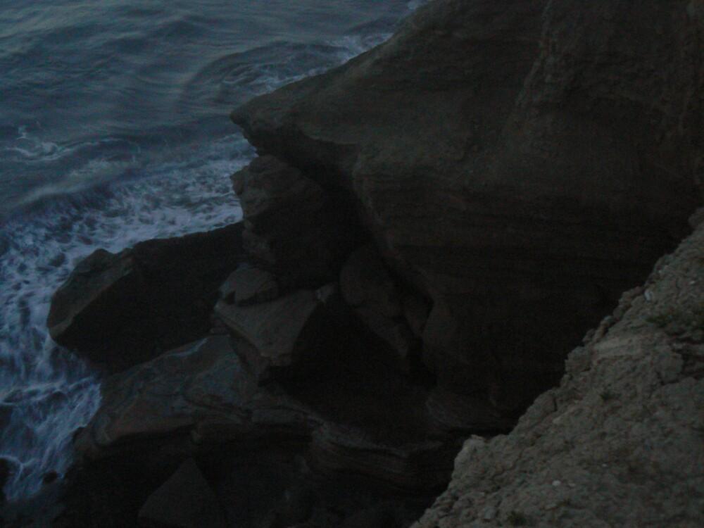 Above the crashing deep by Ryan Emerson