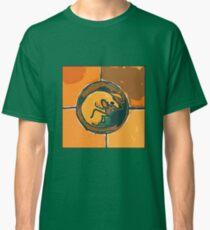 SLEEPING ORANGE DOG  Classic T-Shirt