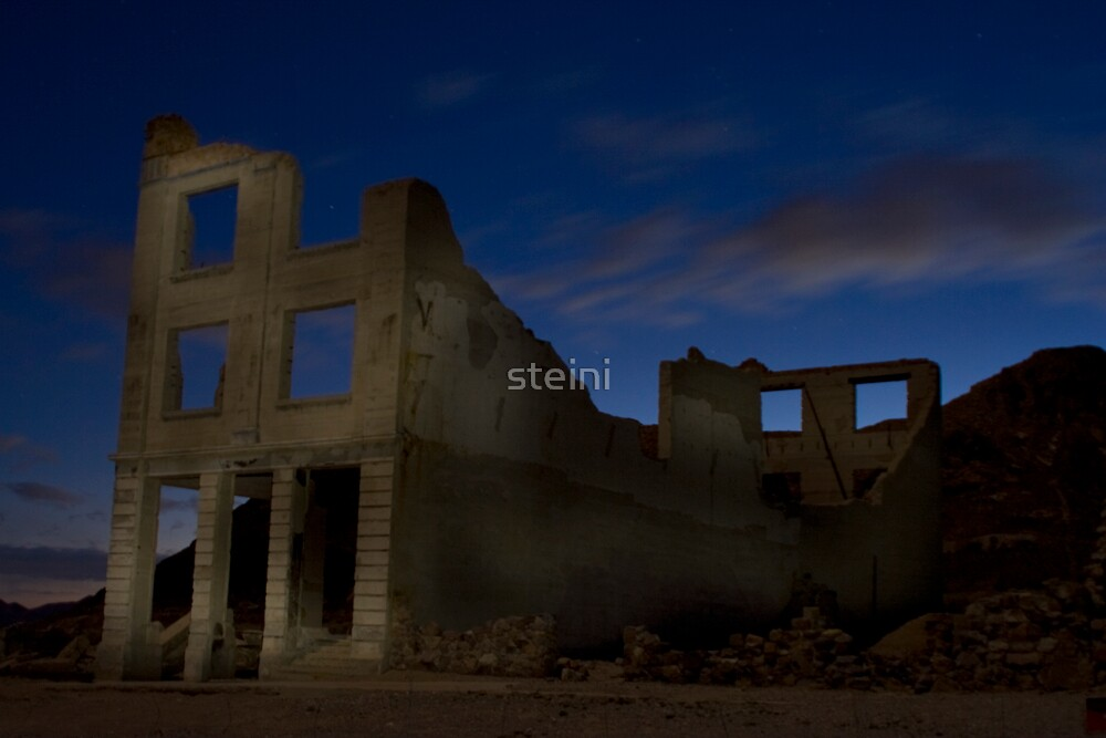 Painting with Light - Cook Bank by steini