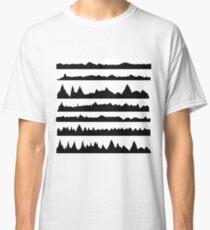 mountain silhouettes Classic T-Shirt