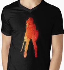 Fire Woman Men's V-Neck T-Shirt