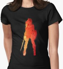 Fire Woman Women's Fitted T-Shirt