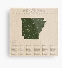 Arkansas Parks Metal Print