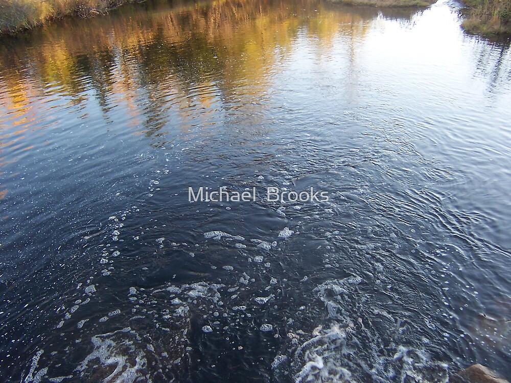 Moosehead Lake Water 002 by Michael  Brooks