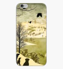 Explore Bruegel Hunters iPhone Case