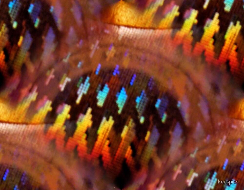 Laser Abstract III by kenspics