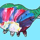 Aven the elephant by Tibetansky