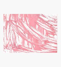 Mauvelous abstract watercolor Photographic Print