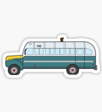 Into the wild bus Sticker