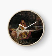 The Lady of Shalott 1888 John William Waterhouse Clock