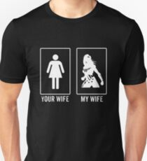 your wife my wife super hero T-Shirt