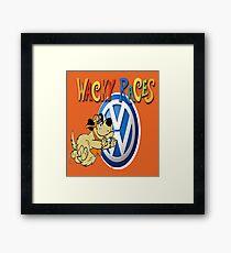VW Wacky Races Muttley Framed Print