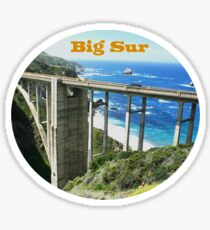 Big Sur (California) Sticker