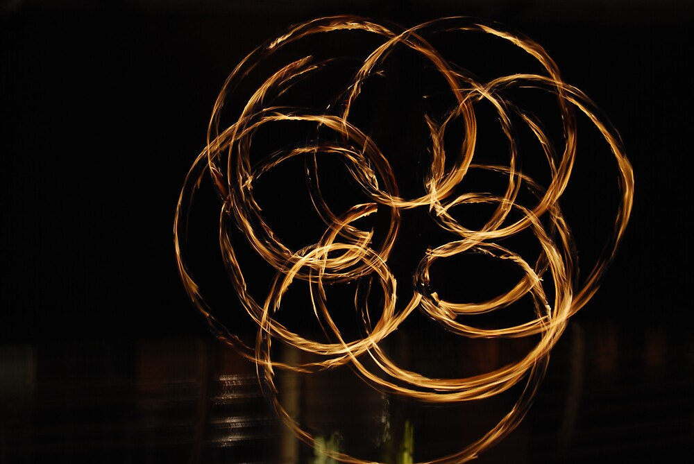 the flower poi  by cool3water