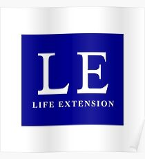 LE, Life Extension Poster