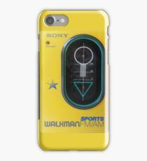 Sony Sports Walkman iPhone Case/Skin